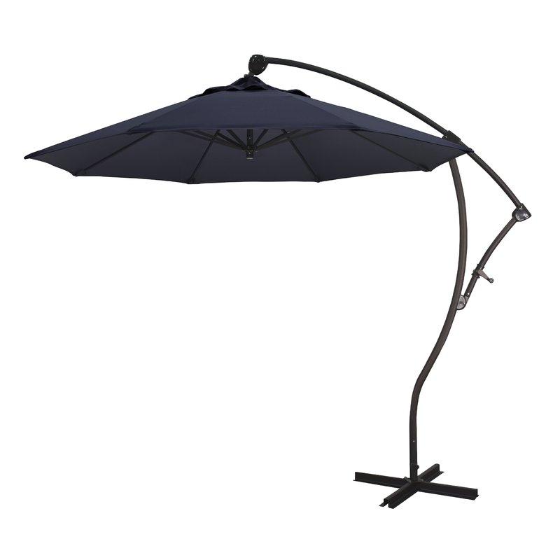 Most Popular Capri 9' Cantilever Umbrella In Vassalboro Cantilever Umbrellas (View 6 of 25)