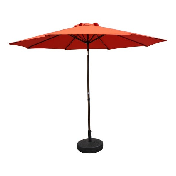 Most Popular Hyperion Market Umbrellas With Buy Orange Patio Umbrellas Online At Overstock (View 12 of 25)