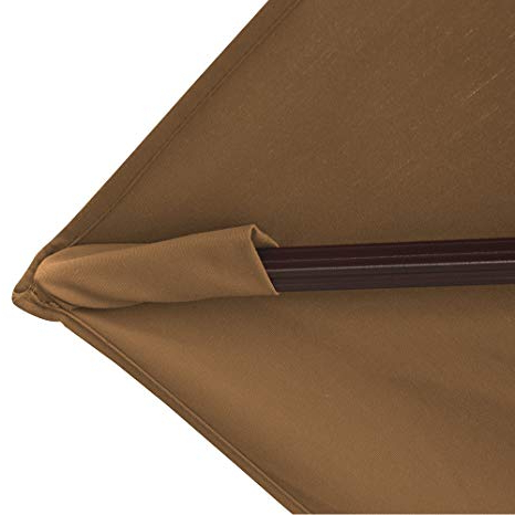Most Popular Island Umbrella Nu6785 Victoria Octagon Cantilever With Valance In  Sunbrella Acrylic, 13', Stone Inside Lennie Cantilever Sunbrella Umbrellas (View 11 of 25)