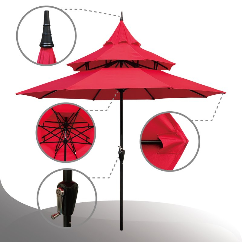 Most Popular Iyanna 9' Market Umbrella For Iyanna Market Umbrellas (View 16 of 25)