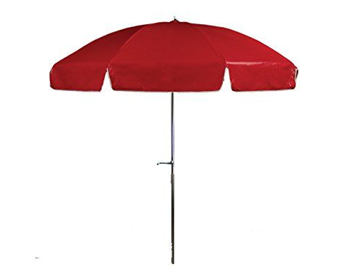 Most Popular Keegan Market Umbrellas Intended For Frankford Umbrellas Laurel Steel Patio Wide Octagon Crank/tilt (View 18 of 25)