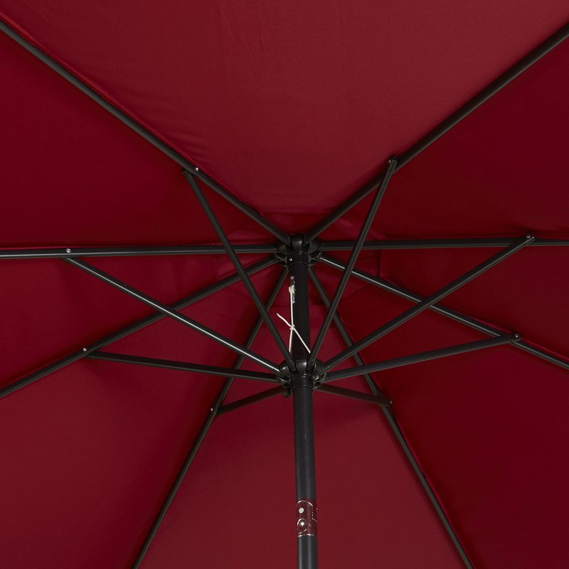 Most Popular Kelton 10' Market Umbrella Throughout Kelton Market Umbrellas (View 16 of 25)