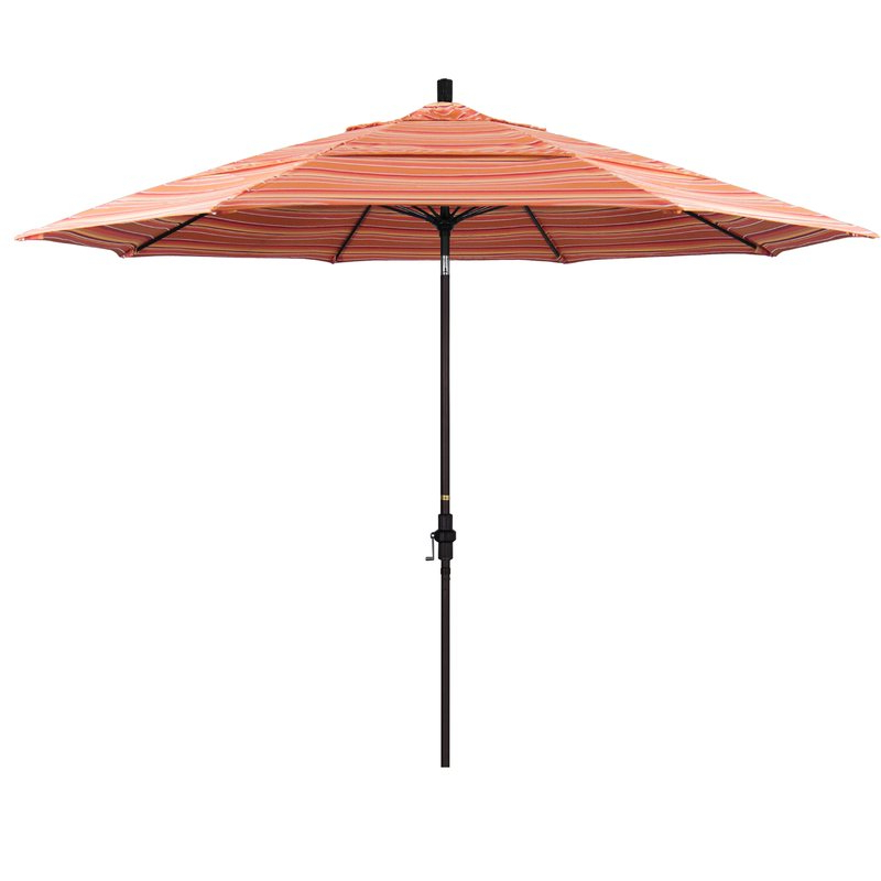 Most Popular Muldoon 11' Market Sunbrella Umbrella Pertaining To Featherste Market Umbrellas (View 2 of 25)
