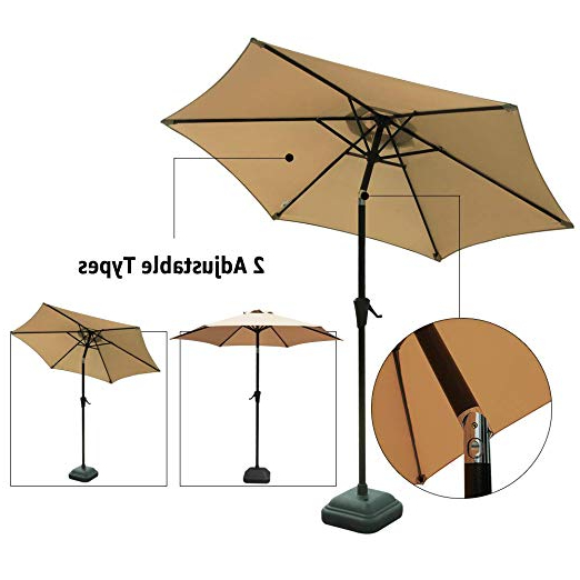 Most Popular Muldoon Market Umbrellas Intended For Cobana  (View 23 of 25)