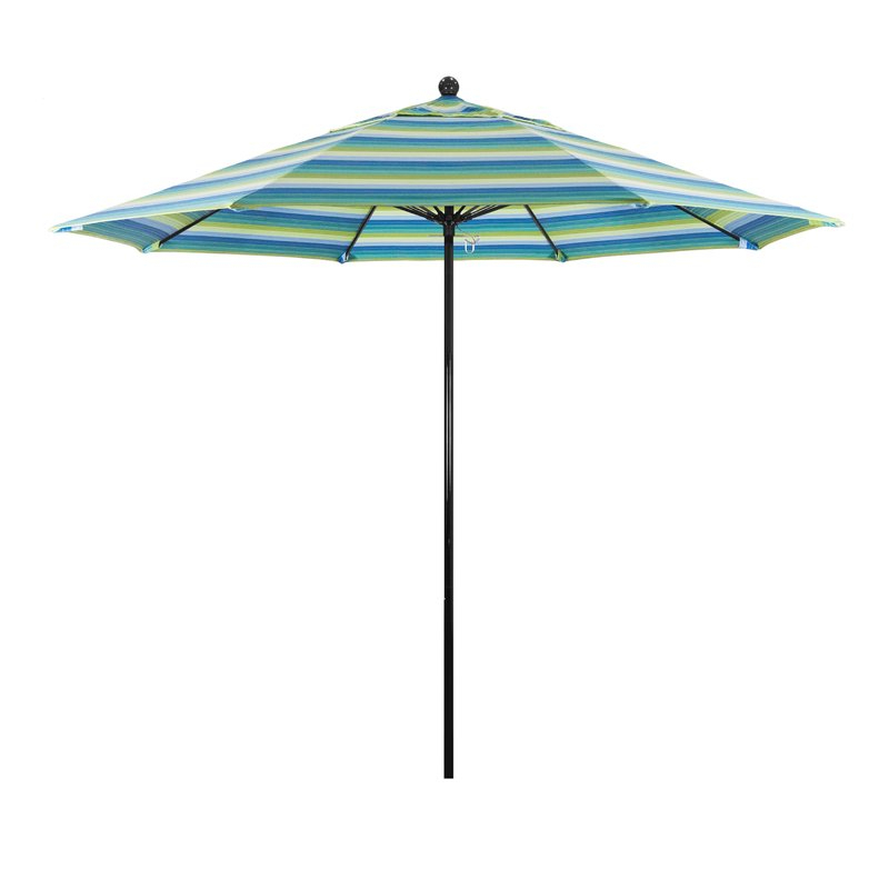 Most Popular Oceanside Series 9' Market Sunbrella Umbrella Regarding Caravelle Square Market Sunbrella Umbrellas (View 12 of 25)