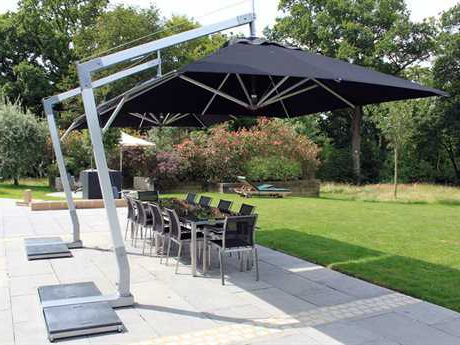 Most Popular Outdoor Offset Cantilever Patio Umbrellas For Sale (View 16 of 25)