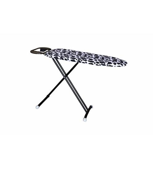 Most Popular Peng Essentials Hetty Black Ironing Board With Hettie Solar Lighted Market Umbrellas (View 12 of 25)