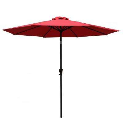 Most Popular With Stand – Market Umbrellas – Patio Umbrellas – The Home Depot Throughout Mullaney Market Sunbrella Umbrellas (View 7 of 25)