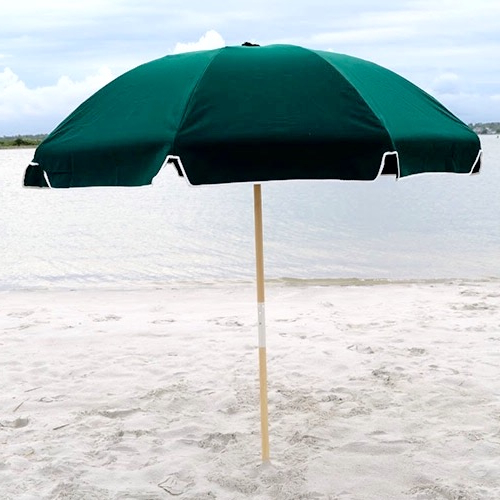 Most Recent Beach Umbrellas Intended For Resort Style  (View 16 of 25)