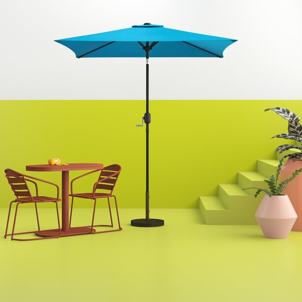 Most Recent Best Design Commercial 6' Square Market Umbrellatelescope Casual Pertaining To Fordbridge Rectangular Market Umbrellas (View 22 of 25)