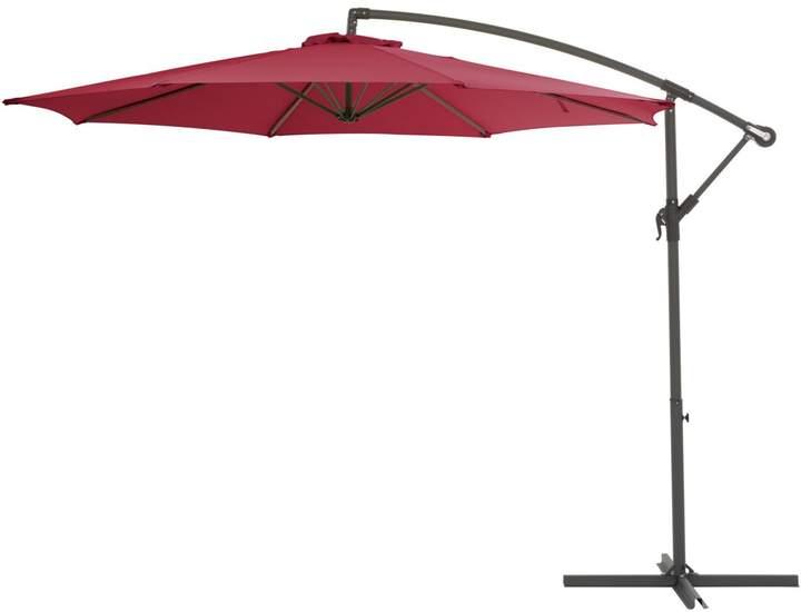 Most Recent Cannock Market Umbrellas Pertaining To Corliving Offset Patio Umbrella (View 17 of 25)