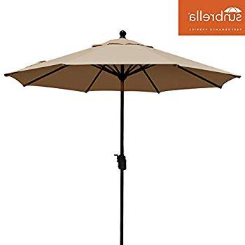 Most Recent Crowland Market Sunbrella Umbrellas Regarding Amazon : Sunbrella Fabric Replacement Umbrella Canopy For 9Ft  (View 15 of 25)