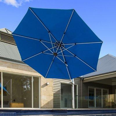 Most Recent Frankford Umbrellas Aurora 11' Cantilever Umbrella (View 13 of 25)
