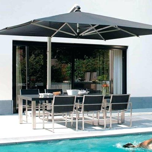 Most Recent Gribble Cantilever Umbrellas Pertaining To Outdoor Cantilever Umbrella Outdoor Cantilever Umbrella Sale Outdoor (View 20 of 25)