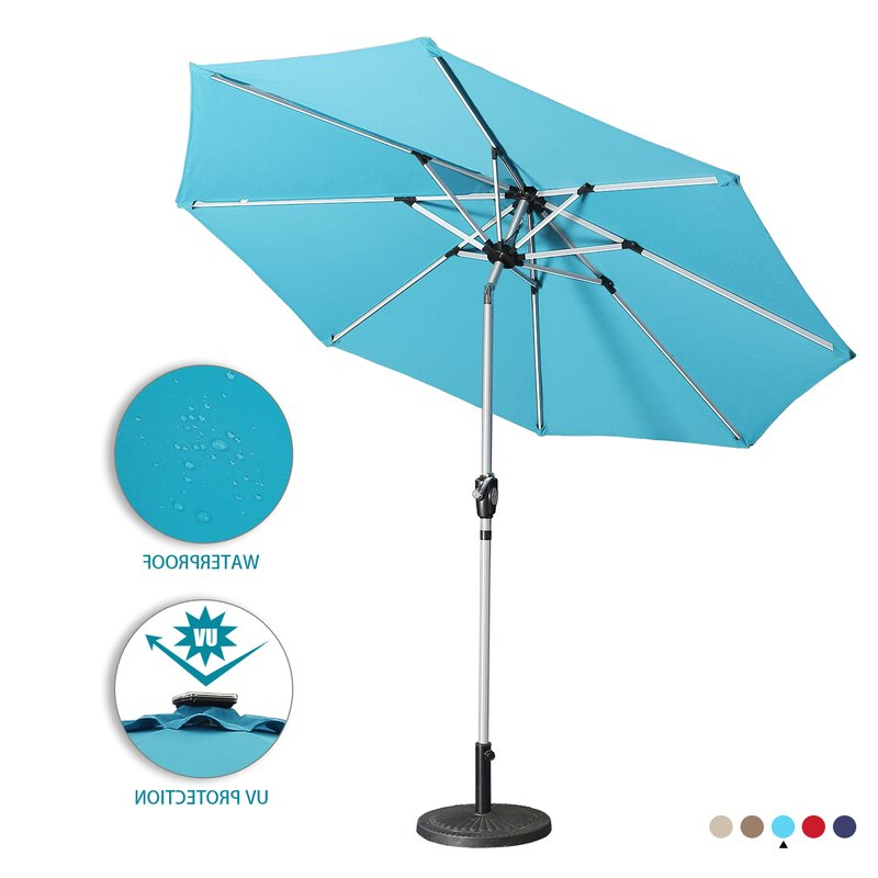 Most Recent Hawkinge 9' Market Umbrella Intended For Hawkinge Market Umbrellas (View 6 of 25)