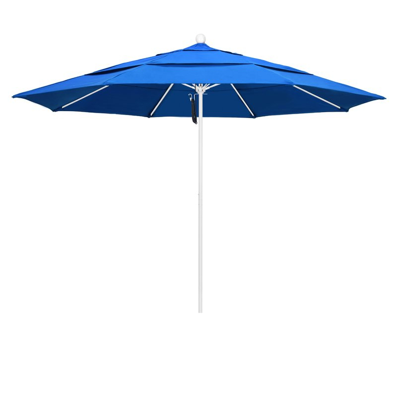 Most Recent Mucci Madilyn Market Sunbrella Umbrellas With Regard To Benson 11' Market Umbrella (View 10 of 25)