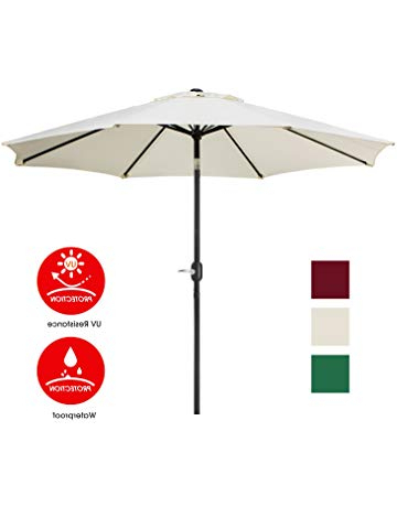 Most Recent Patio Umbrellas (View 13 of 25)