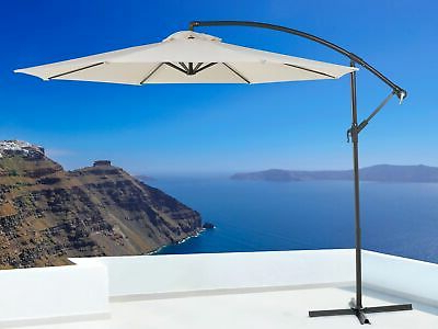 Most Recent Trotman Cantilever Umbrellas Pertaining To Brayden Studio Trotman 10' Cantilever Umbrella – $ (View 7 of 25)