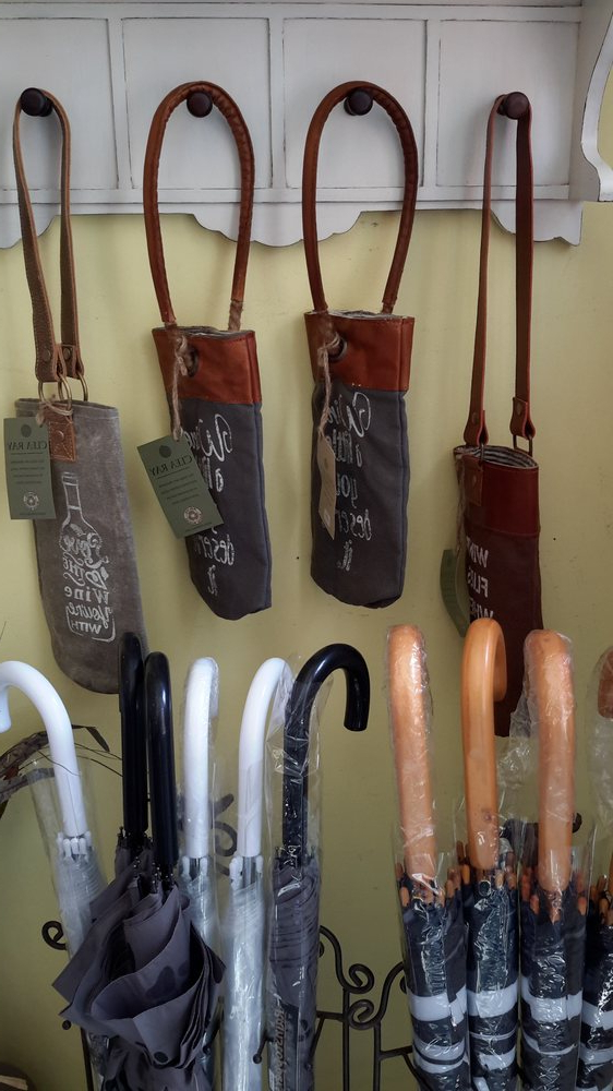 Most Recent Wine Totes Made From Repurposed Military Tentsalso Umbrellas (View 17 of 25)