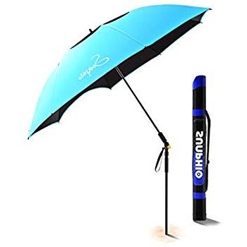 Most Recently Released Amazon: Easygo 8 Foot Heavy Duty High Wind Beach Umbrella Regarding Schroeder Heavy Duty Beach Umbrellas (View 10 of 25)