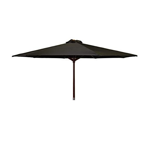 Most Recently Released Black Patio Umbrellas: Amazon With Regard To Destination Gear Square Market Umbrellas (View 13 of 25)