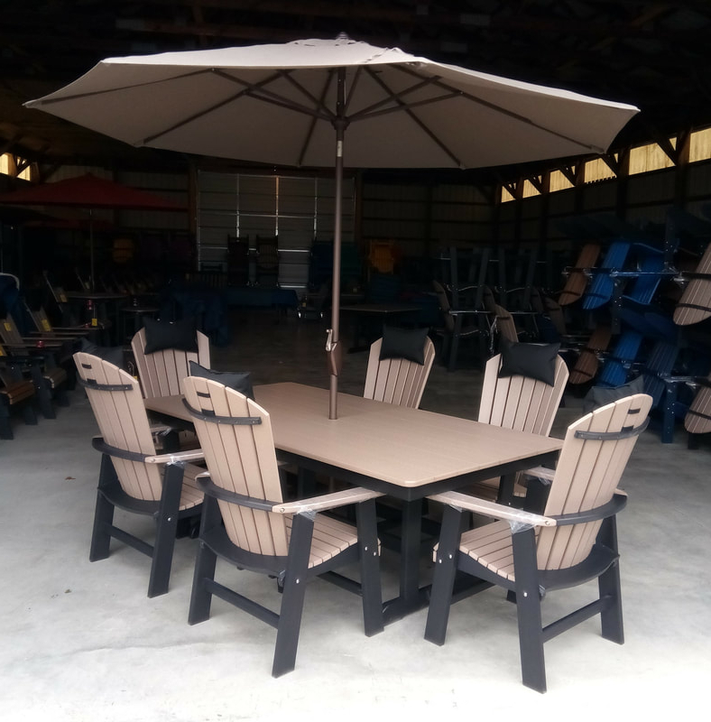 Most Recently Released Brubaker Market Umbrellas Inside Lancaster Poly Patios – Home (View 17 of 25)