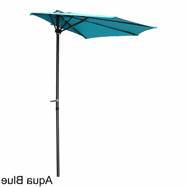 Most Recently Released Buy Size 9 Ft Blue Patio Umbrellas Online At Overstock (View 23 of 25)
