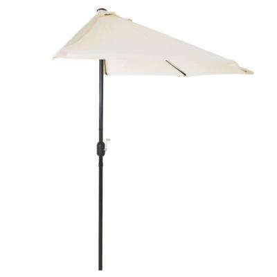 Most Recently Released Half Round Market Umbrellas Within Pure Garden – Weather Resistant – Patio Umbrellas – Patio Furniture (View 10 of 25)