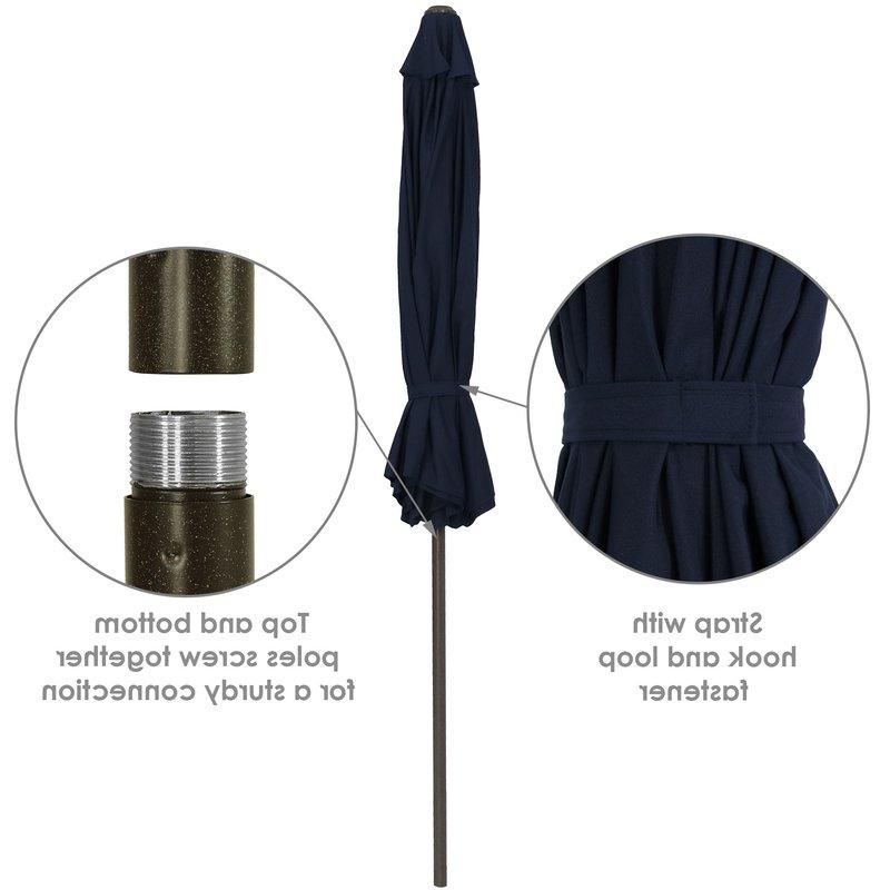 Most Recently Released Julian Market Sunbrella Umbrellas For Julian 9' Market Sunbrella Umbrella (View 6 of 25)
