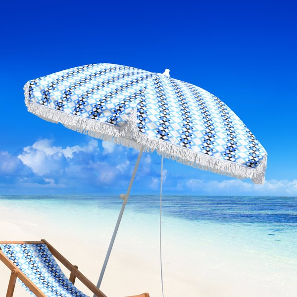 Featured Photo of Leasure Fiberglass Portable Beach Umbrellas