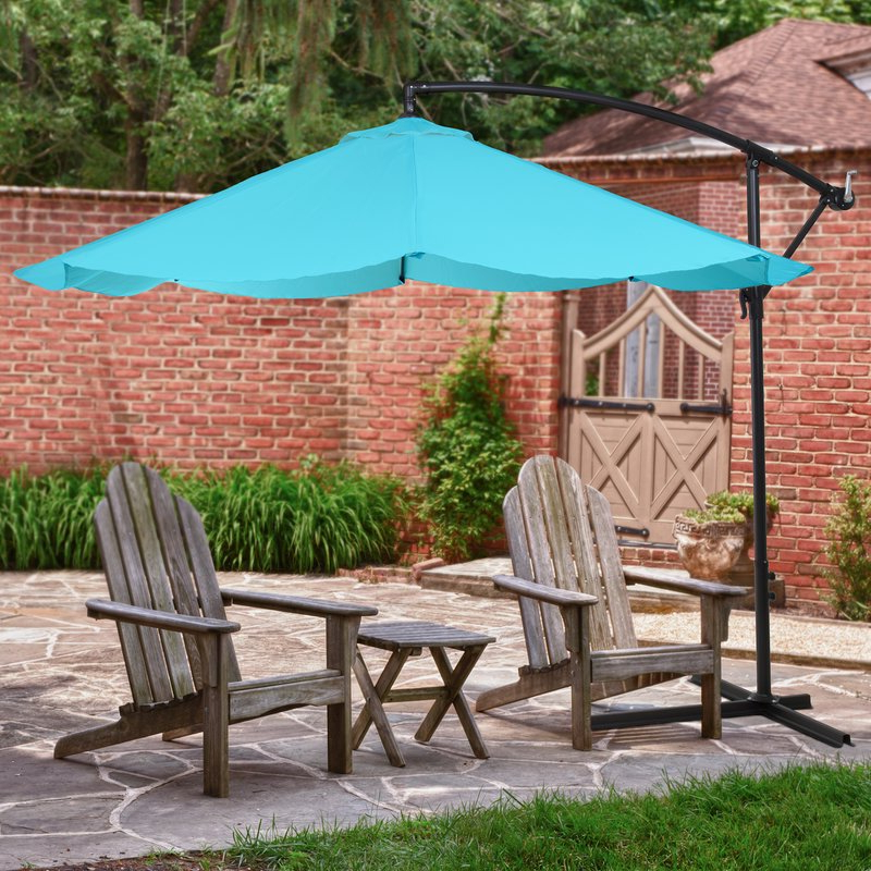 Most Recently Released Vassalboro 10' Cantilever Umbrella With Regard To Ketcham Cantilever Umbrellas (View 16 of 25)