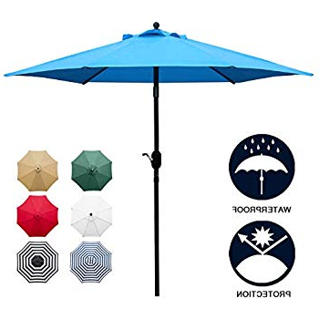Most Up To Date Amazon : Cobana Patio Umbrella,  (View 16 of 25)