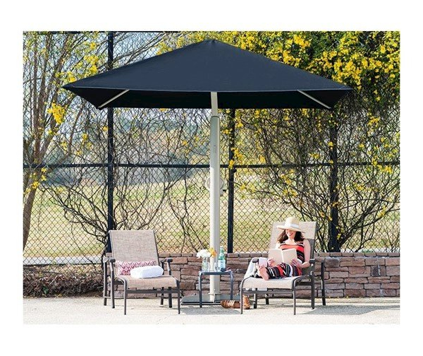 Most Up To Date Anna Cantilever Umbrellas For 10' Square Portable Retractable Crank Cantilever Umbrella Shade (View 24 of 25)