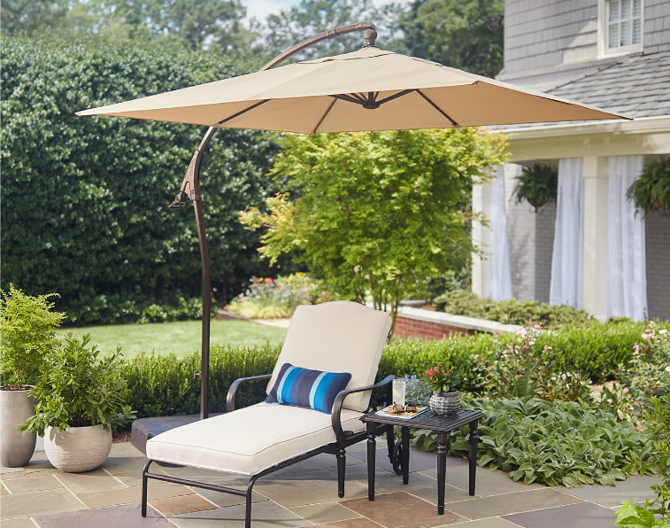 Most Up To Date Astonishing Freestanding Patio Umbrella On Umbrellas The Home Depot With Trotman Cantilever Umbrellas (View 10 of 25)