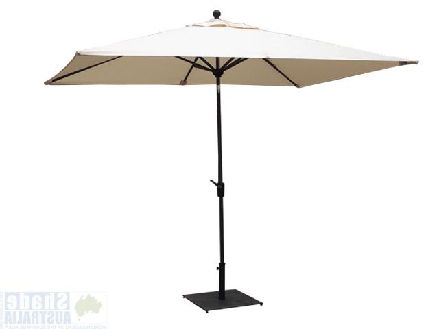 Most Up To Date Australia's Widest Range Of Cafe, Commercial & Backyard Umbrellas Inside Launceston Rectangular Market Umbrellas (View 25 of 25)