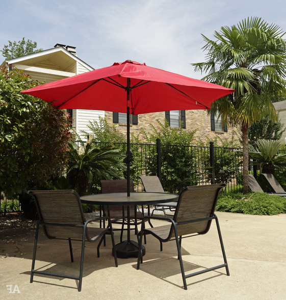 Most Up To Date Beau Terre Apartments Intended For Brame Market Umbrellas (View 23 of 25)