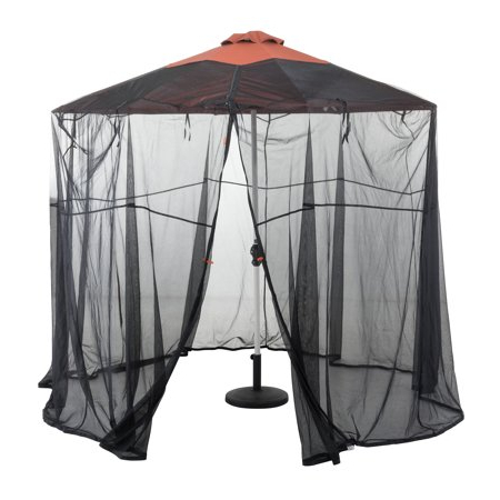 Most Up To Date Classic Accessories Universal Round Patio Umbrella Insect Screen In Taube Market Umbrellas (View 16 of 25)