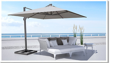 Most Up To Date Desmond  Rectangular Cantilever Umbrellas With Regard To Bloom (View 16 of 25)
