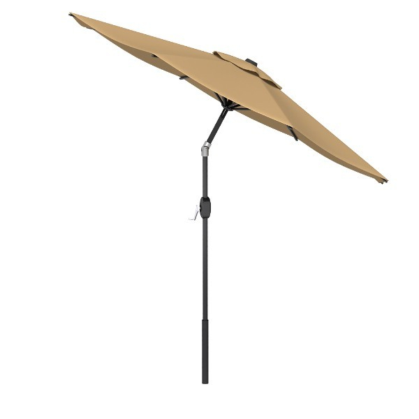 Most Up To Date Heavy Duty Aluminum Round Patio Tilt Umbrella (View 11 of 25)