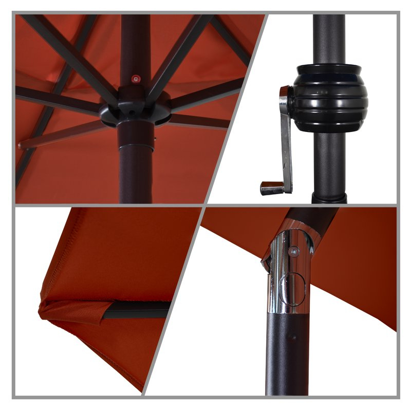 Most Up To Date Kearney Market Umbrellas Inside Kearney 9' Market Umbrella (View 18 of 25)