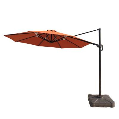 Most Up To Date Kedzie Outdoor Cantilever Umbrellas Intended For 11 Ft (View 15 of 25)