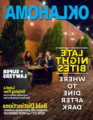 Most Up To Date Oklahoma Magazine November 2018Oklahoma Magazine – Issuu Regarding Branscum Lighted Umbrellas (View 20 of 25)