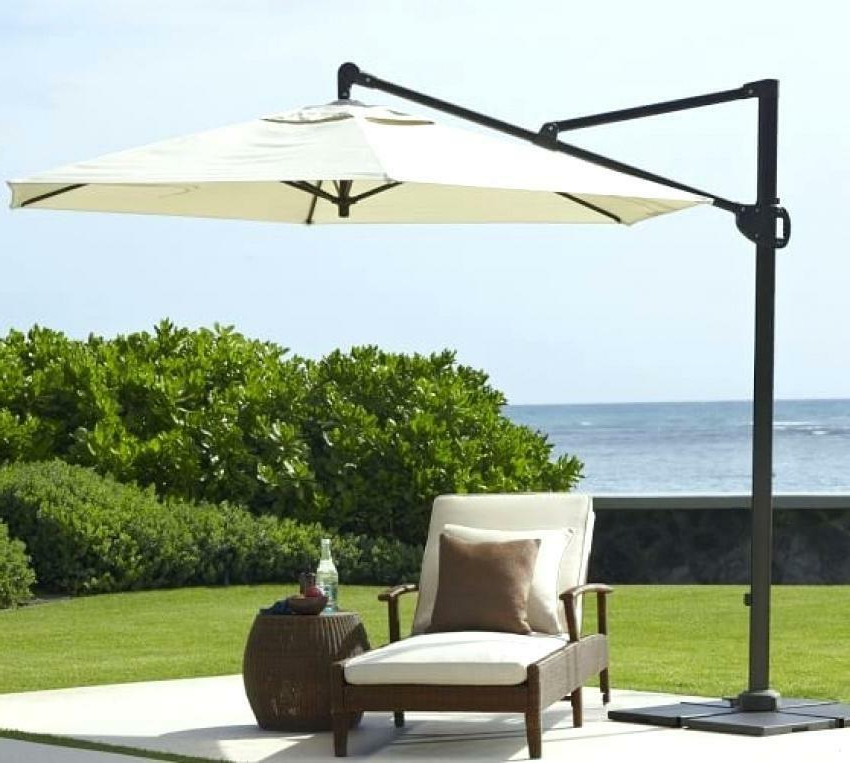 Most Up To Date Sunbrella Cantilever Umbrella – Auroraproject (View 19 of 25)
