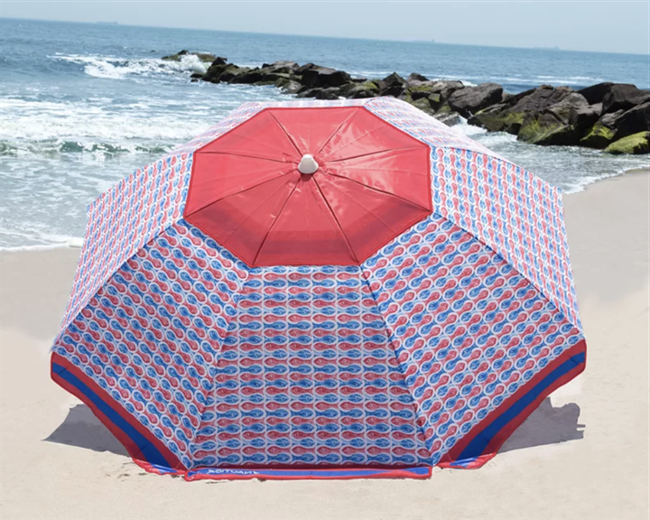 Most Up To Date The Best Beach Umbrellas Pertaining To Smithmill Beach Umbrellas (View 10 of 25)