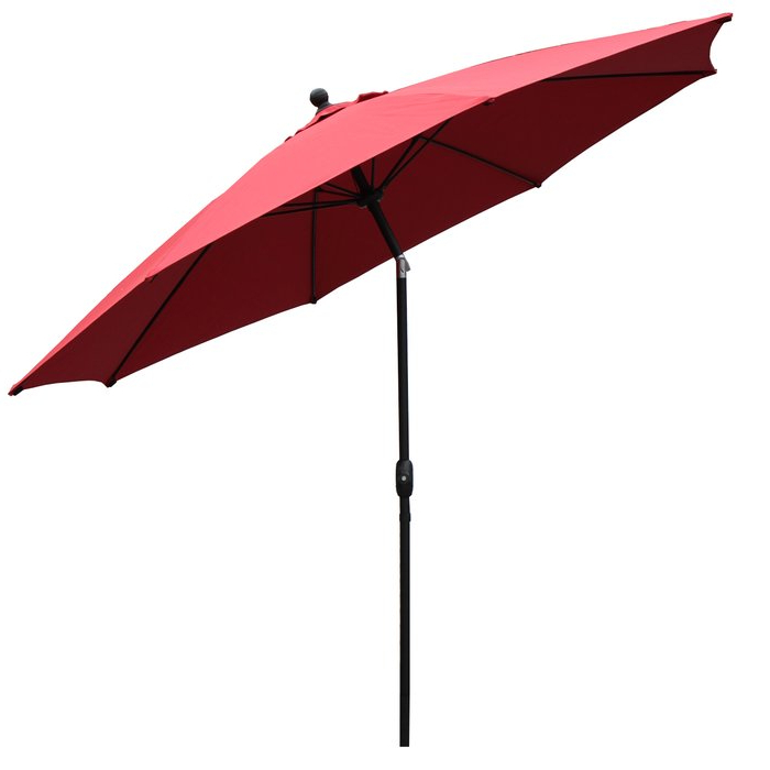 Mucci Madilyn 10' Market Sunbrella Umbrella Within Widely Used Mucci Madilyn Market Sunbrella Umbrellas (View 17 of 25)