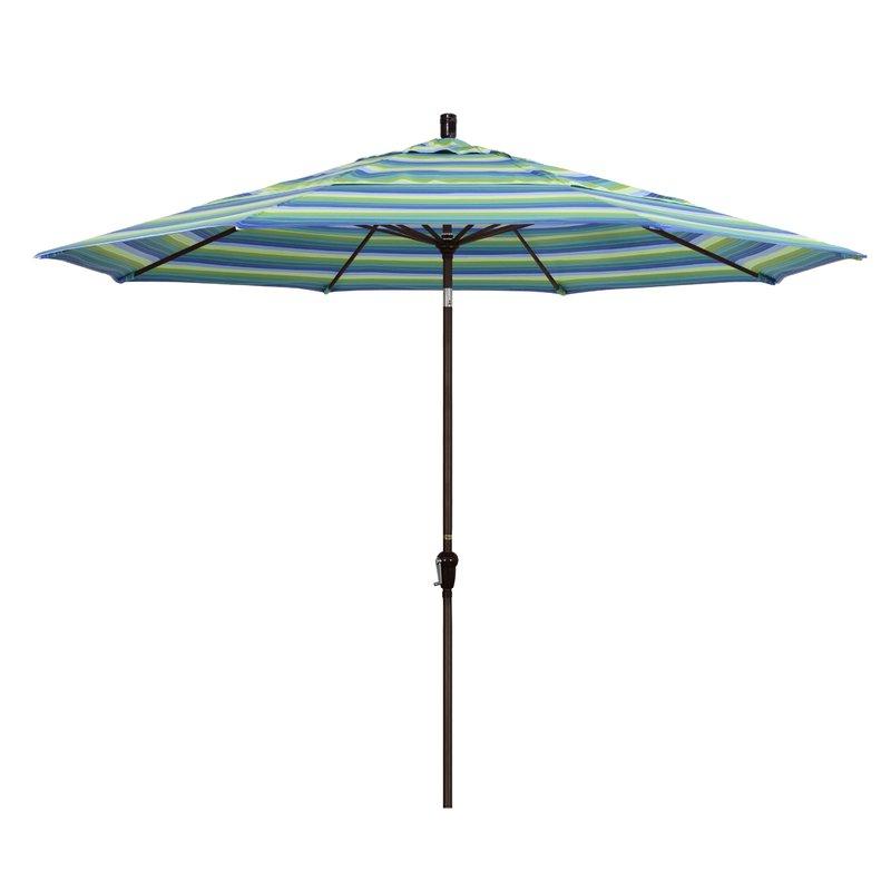 Mullaney 11' Market Sunbrella Umbrella Intended For Well Known Mullaney Market Sunbrella Umbrellas (View 11 of 25)