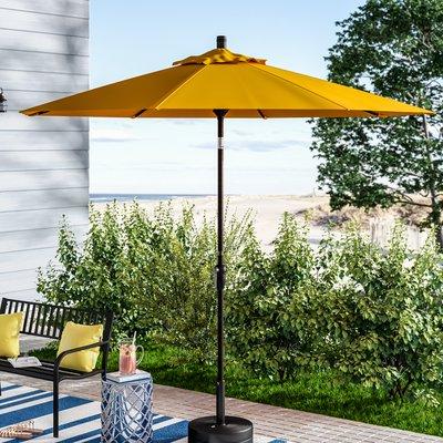 Mullaney Market Umbrellas Regarding Popular Beachcrest Home Mullaney 9' Market Umbrella In (View 5 of 25)
