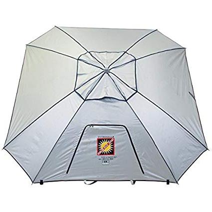 Mutual Sales Beach Umbrella 9 W Anchor, 1 Ea With Regard To Current Sun Shelter Beach Umbrellas (View 16 of 25)