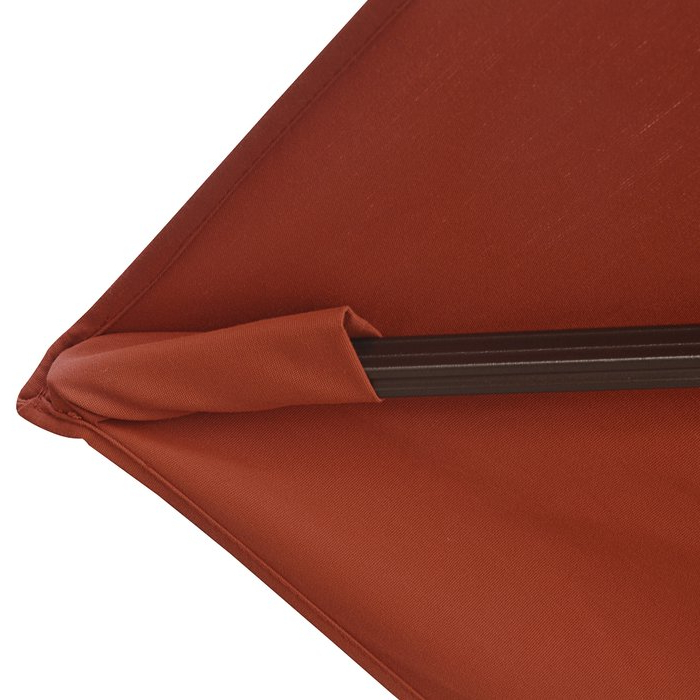 Nasiba 9.7' Square Cantilever Sunbrella Umbrella with regard to Current Nasiba Square Cantilever Sunbrella Umbrellas