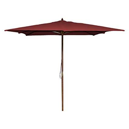 New Haven 8.5' Square Market Umbrella: Amazon (View 13 of 25)